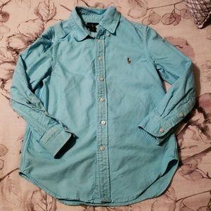 Ralph Lauren blue shirt S (8)